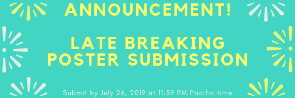 Late Breaking Announcement